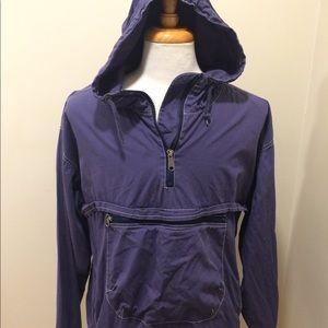 Vintage men's gap Full Zip hoodie size large Navy
